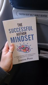 Reading The Successful Author Mindset on our way to Dublin!